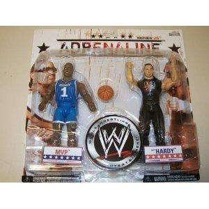 MATT HARDY & MVP ADRENALINE 29 WWE JAKKS ACTION FIGURE