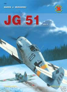 WW2 German Luftwaffe JG 51 Kagero Reference Book 2