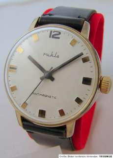 in Germany Herrenuhr Sammler Uhr vintage German men gents wrist watch