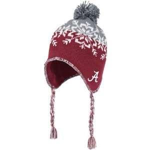 Alabama Crimson Tide Womens adidas Snowflake Knit Hat