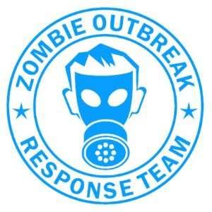 Zombie Outbreak Response Team IKON GAS MASK Design   5 LIGHT BLUE