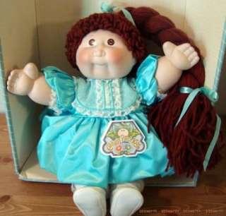 Cabbage Patch Kids 16 Porcelain Doll 1985 COA CPK Melanie Susanne Kid