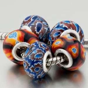 Brilliant Phoenix Theme Beads Fit Pandora Charms (include