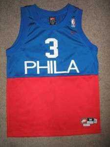 ALLEN IVERSON #3 76ers Basketball Jersey Youth Medium