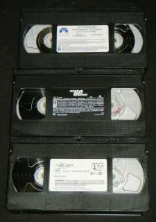 ANGELINA JOLIE 3 VHS Movie Set   Gone In 60 Seconds, ++