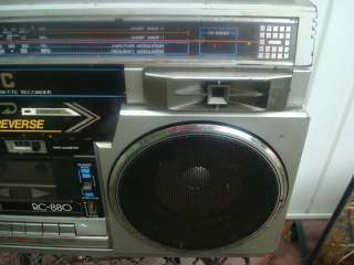 RC 880JW STEREO CASSETTE RADIO BOOMBOX GHETTOBLATER NOT WORKIN