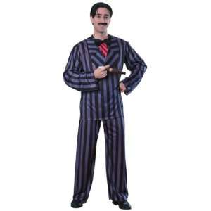Gomez Addams Family Halloween Fancy Dress Costume   XL