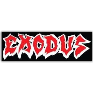 Exodus Thrash Metal car bumper sticker decal 2 x 6