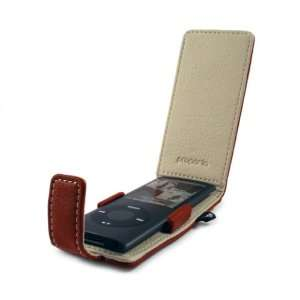 Proporta Apple iPod nano 4G Case   Leather Style   Red