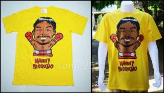 New Many Pacquiao Boxing King Man T Shirt Fanny Punk Tattoo Bike Rock