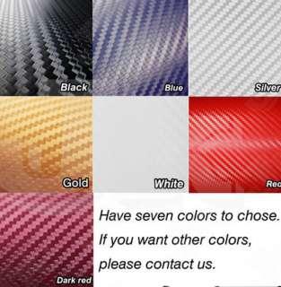 3D Carbon Fiber Vinyl Sheet Wrap Twill Weave 8 x 5 Iphone PSP Xbox