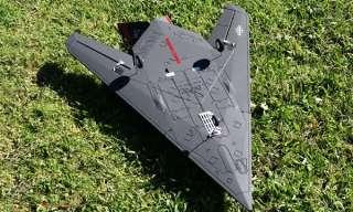 READY TO FLY RC JET BZ 117 Stealth Jet