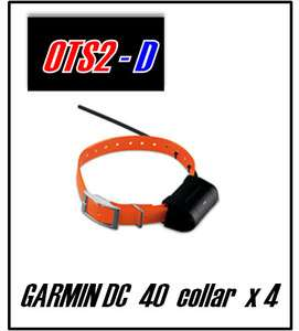 New Garmin Astro DC 40 GPS Dog Tracking Collar DC40 x 4