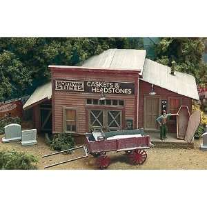 & Headstones Laser Cut Wood Kit w/Wagon & Accessories Toys & Games