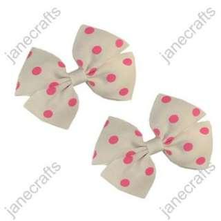 Polka Dot Pinwheel Girl/Baby/Toddler Hair Bows hairbows 30pcs