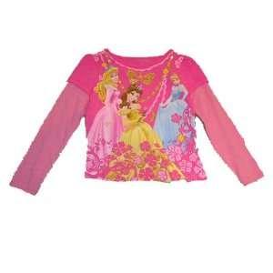 Belle Sleeping Beauty Girls Long Sleeve Shirt Size 5