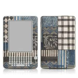 Country Chic Blue Design Protective Decal Skin Sticker for
