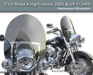 FLHRS Road King Custom 18 2002 UP Clear Windshield Screen