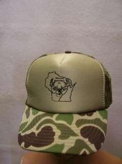 Deer Hunters Inc.Camouflage Mesh Snapback Cap/Hat NEW Hunting