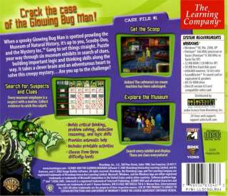 New Kids Video Game SCOOBY DOO   THE GLOWING BUG MAN