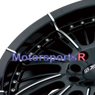 15 XXR 510 Rim Wheels 09 10 Toyota Yaris Honda Fit Cube