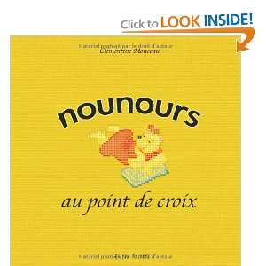 nounours au point de croix (9782915667011): Books