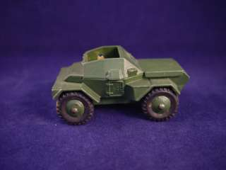 Vintage Dinky Toys Army Daimler Scout Car No. 673