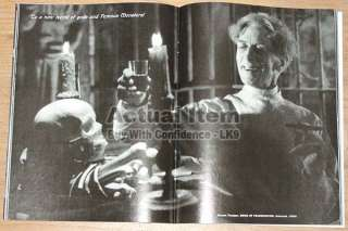 FRANKENSTEIN Dark Shadows JONATHAN FRID Barnabas LUGOSI Famous