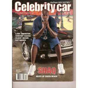 Registry CELEBRITY CAR Magazine (SHAQ, Fall 2004): duPont Registry