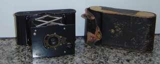 RARE Antique Kodak 1913 Folding Camera W/Case Eastman Kodak Rochester