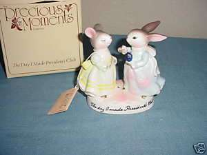 Avon Precious Moments Presidents Club 1980 Figurine