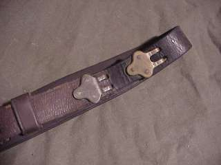 WW1 US M1907 Leather Rifle Sling 1903 Springfield 1917 Enfield Fair