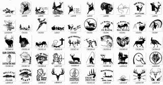 WHITETAIL DEER/ ARCHERY/ HUNTING/ FISHING/ BOWFISHING/ MULE DEER DECAL