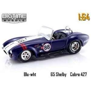 Jada Dub City Big Time Muscle Blue Racing 1965 Shelby Cobra 427 S/C