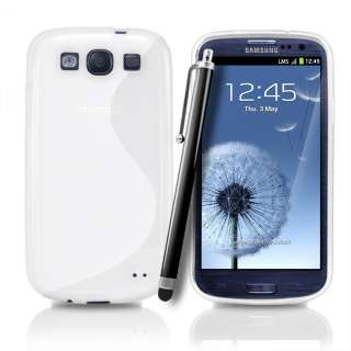 London Magic Store   White S Line Wave Gel Case Cover for Samsung