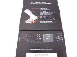 Fit Soccer Compression White Socks Knee High Men 8 12 2 Pair