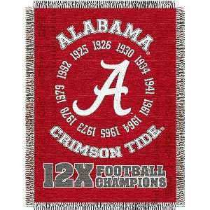 Alabama Crimson Tide NCAA National Championship Commemorative Woven