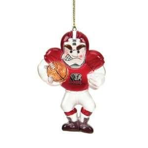 Alabama Crimson Tide Ncaa Acrylic Football Player Ornament