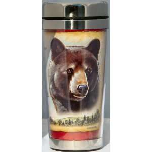 Black Bear 16 ounce Stainless Steel Insulated Thermal
