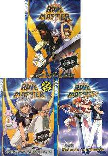 Rave Master Vol 1 2 3 Complete Series Collection Set New 3 Anime DVD