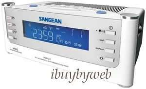 Sangean RCR 22 Atomic AM FM Alarm Clock Radio NEW