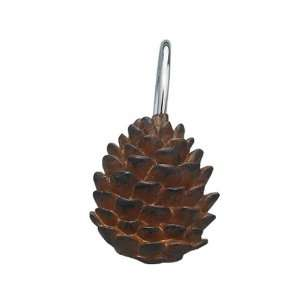 Pine Cone Shower Curtain Hooks  Home & Kitchen