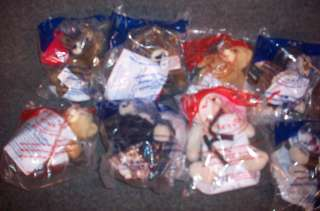 15 Mcdonalds Build A Bear Workshop Bears KITTY MONKEY +