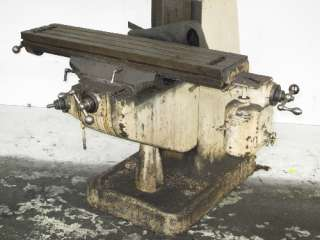 BRIDGEPORT 1 HP VERTICAL MILL 9 X 42
