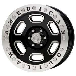 American Outlaw Shotgun Series Black Wheel (20x9/8x170mm)