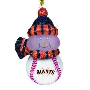 San Francisco Giants All Star Light Up Ornament Set Of 3
