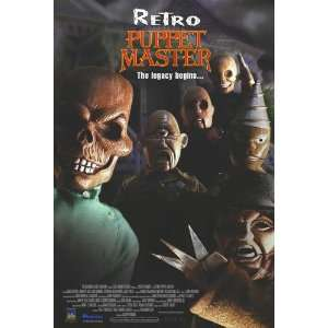 new product 83e53 269d3 ... Retro Puppet Master Movie Poster Single Sided Original ...