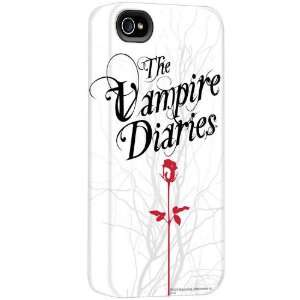 Vampire Diaries Logo White iPhone Case Style 2: Cell