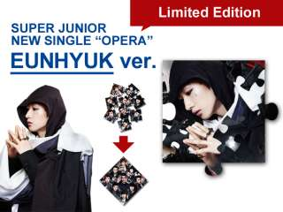 Super Junior Opera EUNHYUK ver. with original POSTER