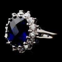 Royal wedding Kate Middleton/ Princess Diana LARGE Replica Engagement